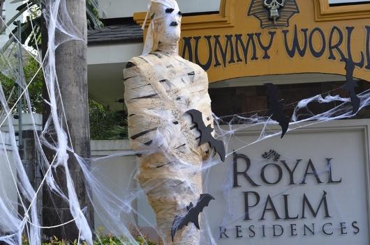 Royal Palm Residences turns into the Mummy World