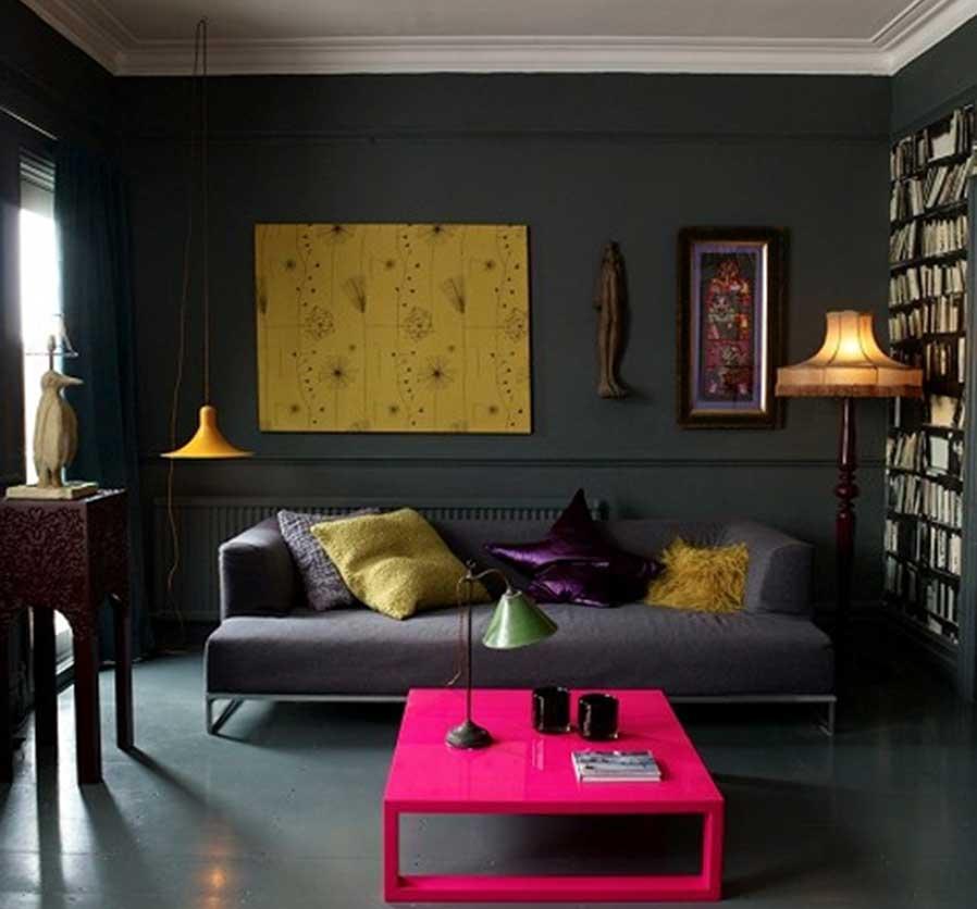 bookworm condo interior design idea