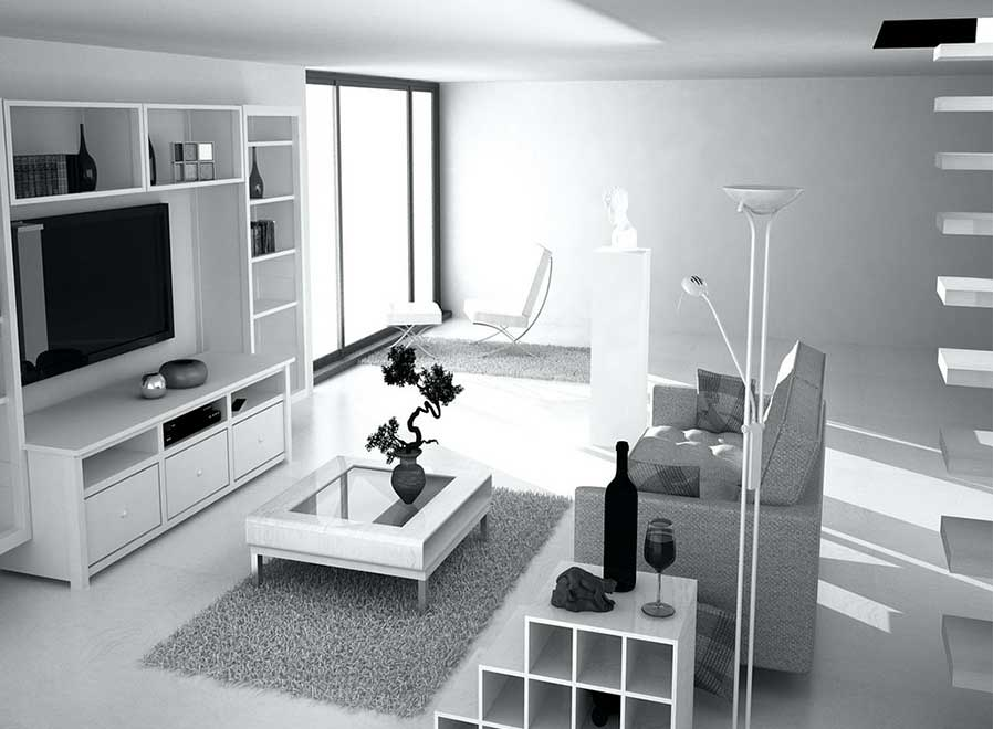 Minimalist Condo Interior Design Idea