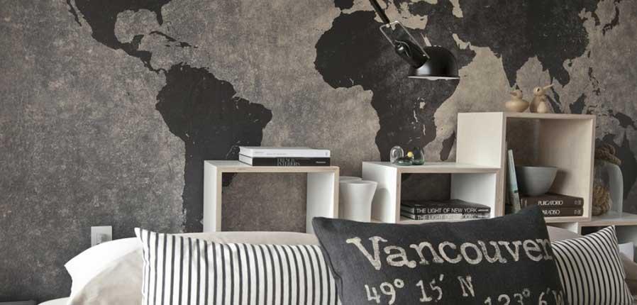 condo traveler's home interior design