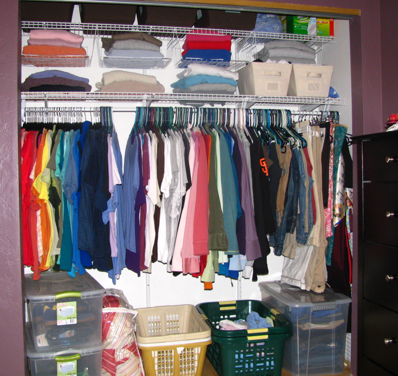condo closet