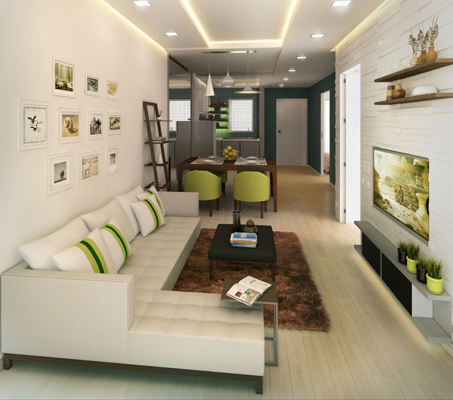 8 advantages of small condo living you need to know for Dmci 2 bedroom interior design