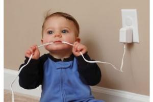 baby dangerous plug