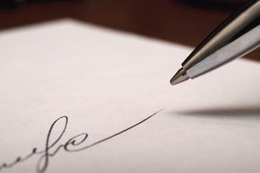 formal written