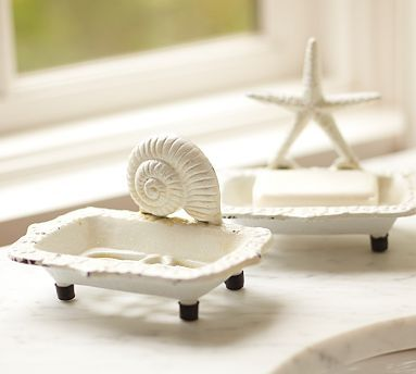 seashell bathroom design