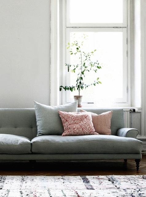 "Forever"" Furnishings condo living room"