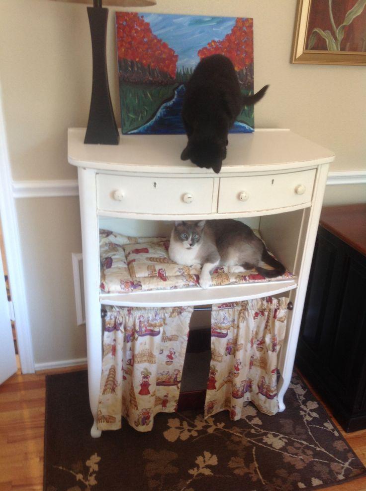 cat drawer pet furniture