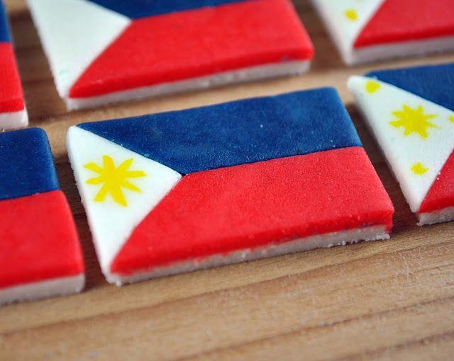 condo cake philippine flag