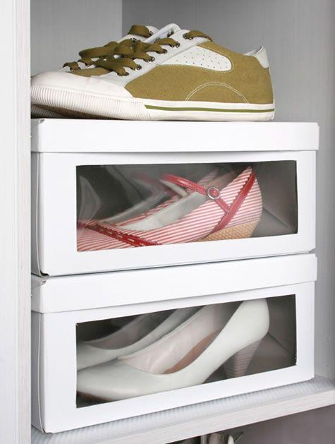 condo closet shoe