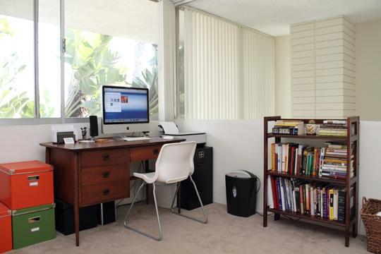 condo office glass slider