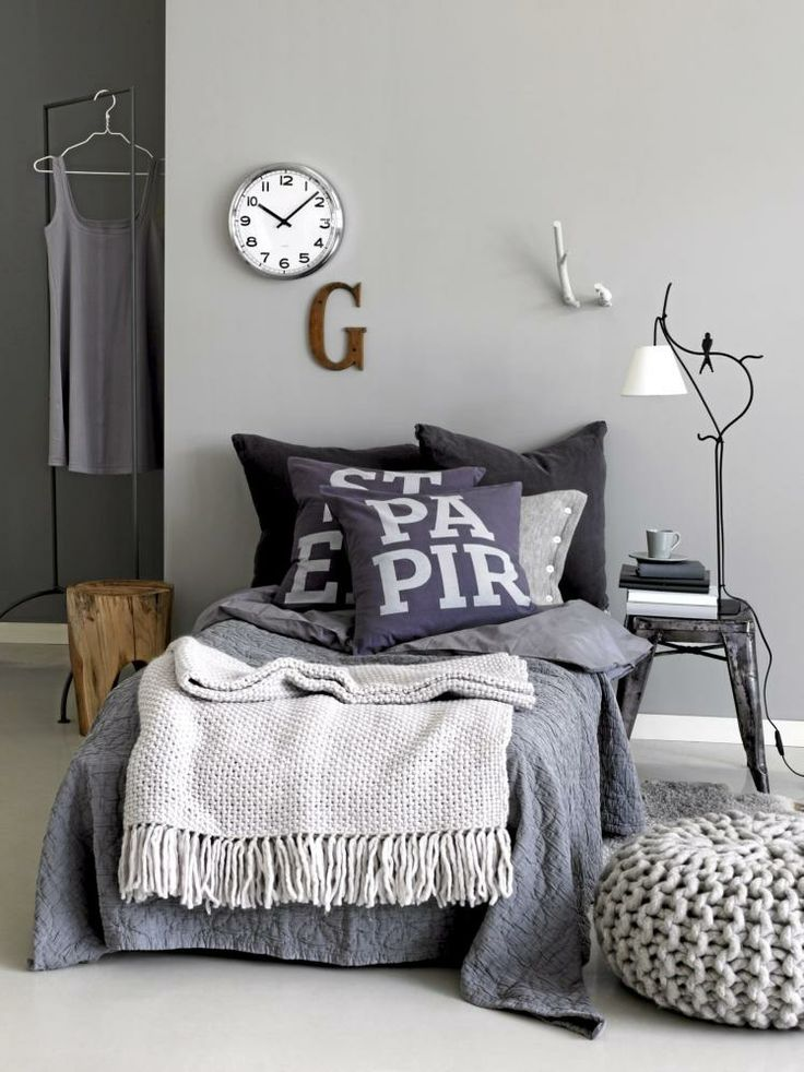 gray condo room