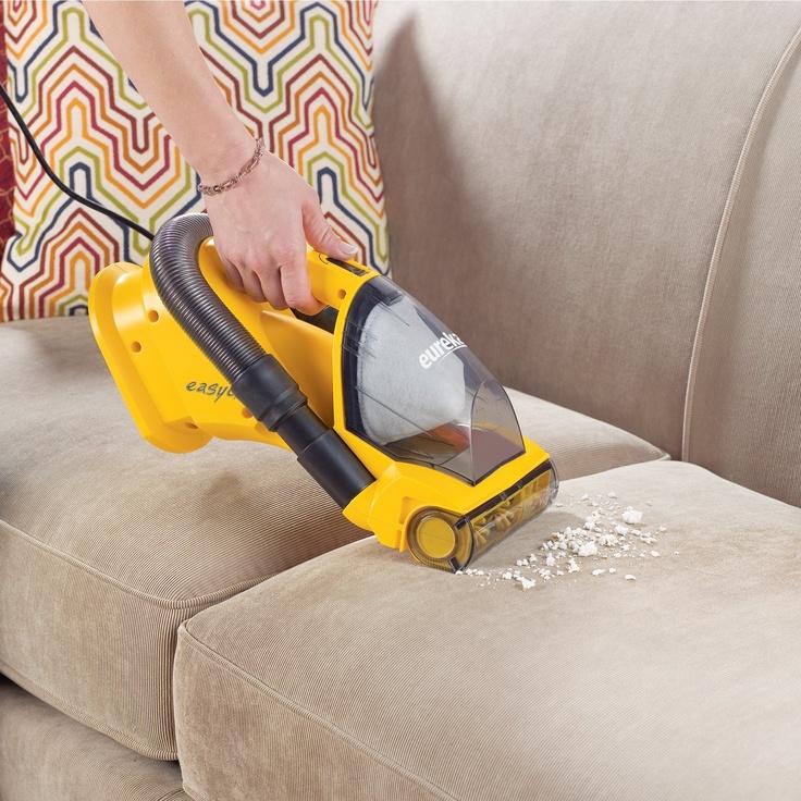 hand-held vacuum your condo furniture