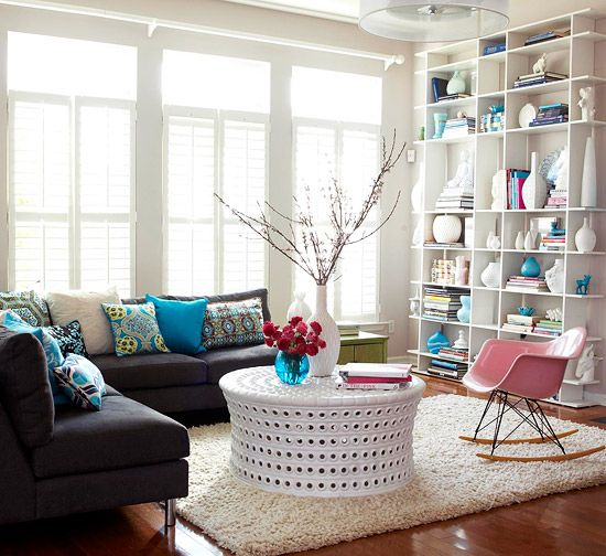 Pastel Colors And Creativity Turning Rooms Into Modern: 10 Savvy Ways To Design Your Condo Living Room