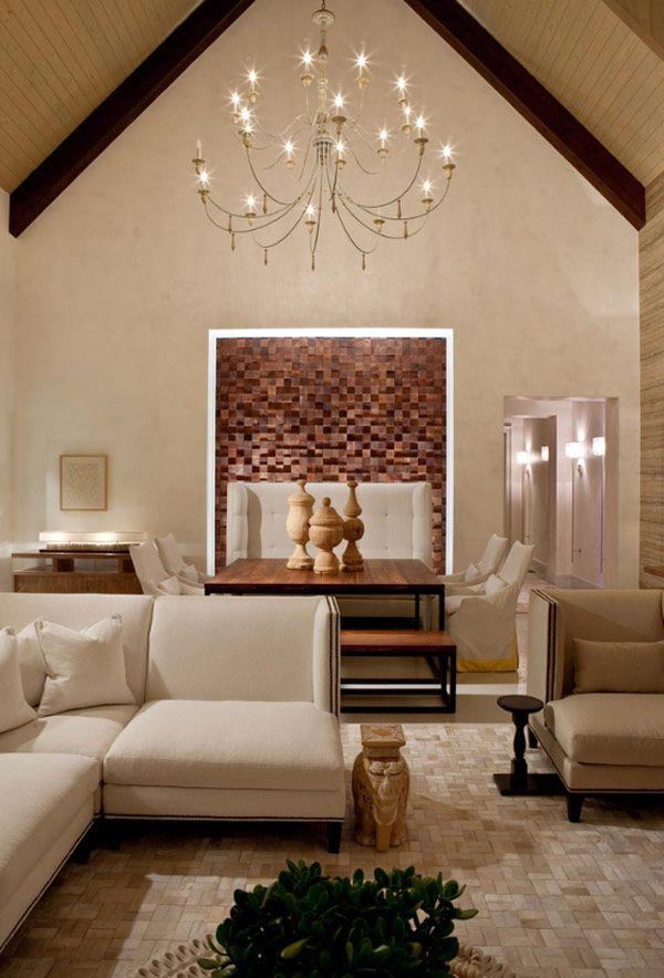 single theme living room