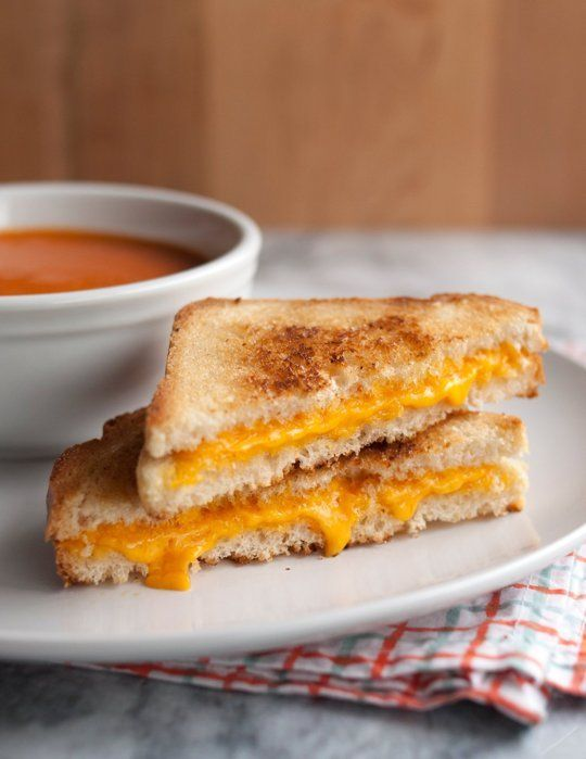 Grilled Cheese Sandwich with a Kick of Salsa