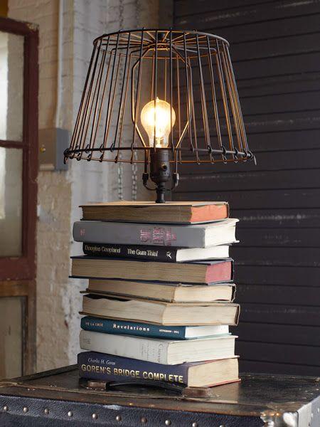 Lamp Bookshelves