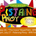 """The Voice,"" Palarong Pinoy among festivity highlights at Pistang Pinoy sa Royal Palm"