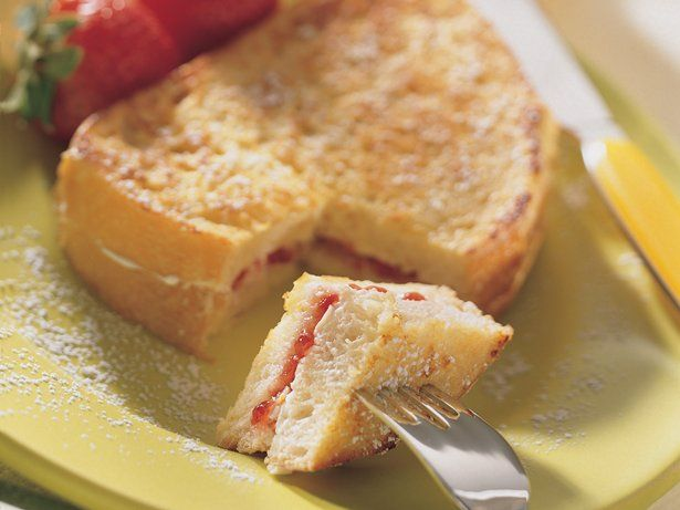 Strawberry Jam-Filled French Toast