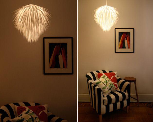 The Paper Starburst Pendant Light