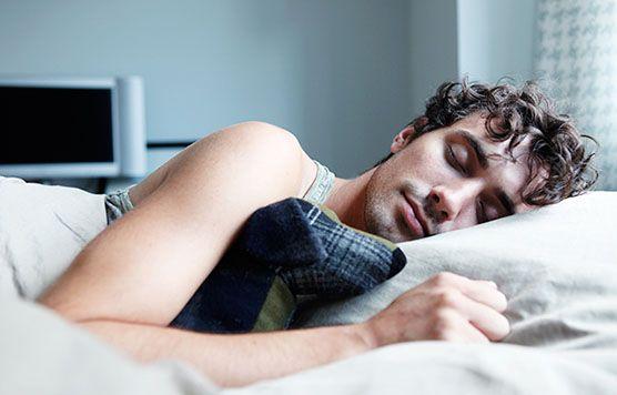good sleep in condo bedroom