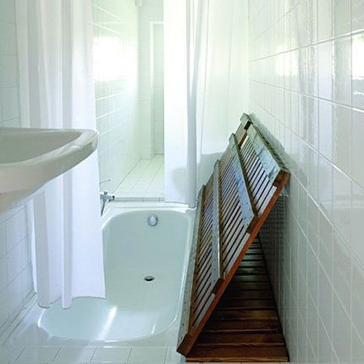 Surprising unique designs for your condo bathroom for Hidden bathroom pics