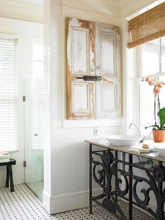 home inspired condo bathroom