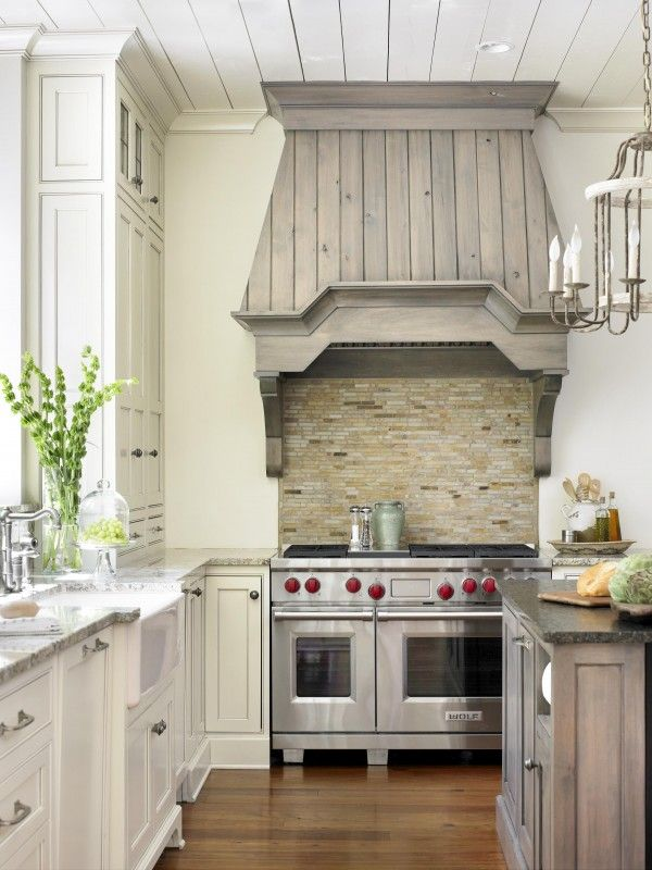 hooded stove