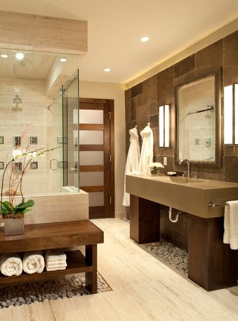 spa type condo bathroom