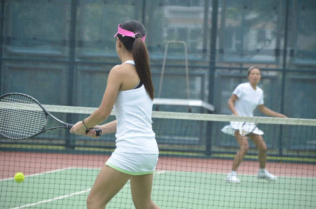 tennis with your condo roommate