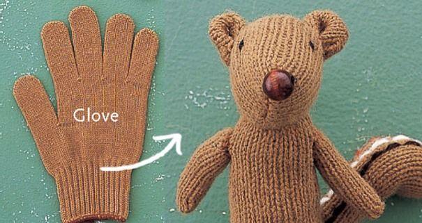 A Chipmunk Glove