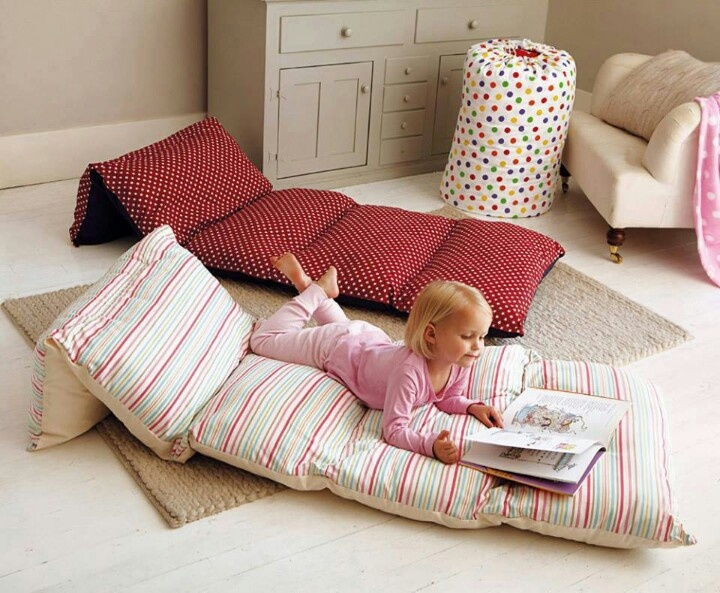 A Giant Pillow for a Slumber Party