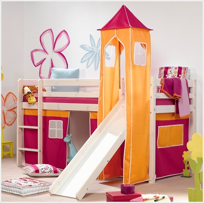 A One of a Kind Double-Purpose Bed and Slide