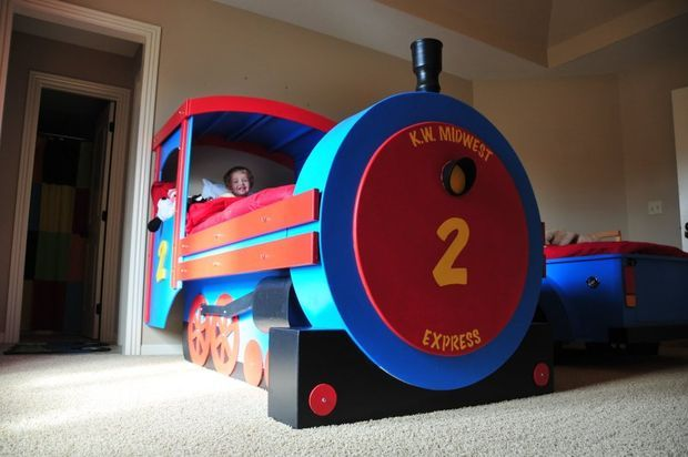 A Train in Your Kids' Room