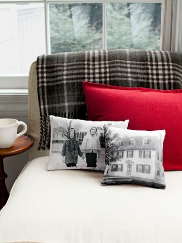 Beautiful Memories Etched on a Pillow