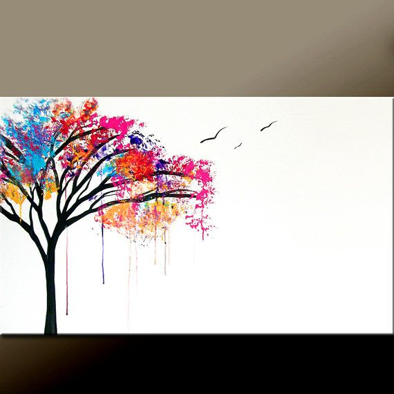 Colorful DIY Crayon Rainbow Canvas