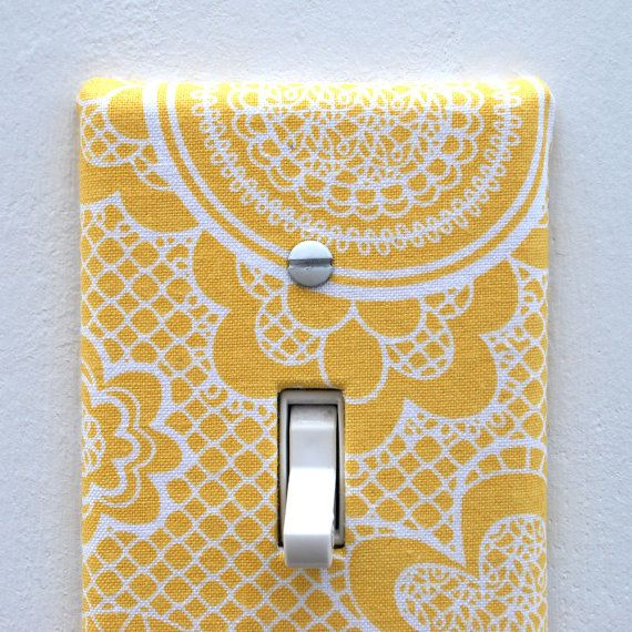 Light Switch with a DIY Cover