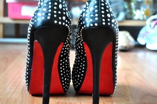 Nail Polish Colored Shoe Soles