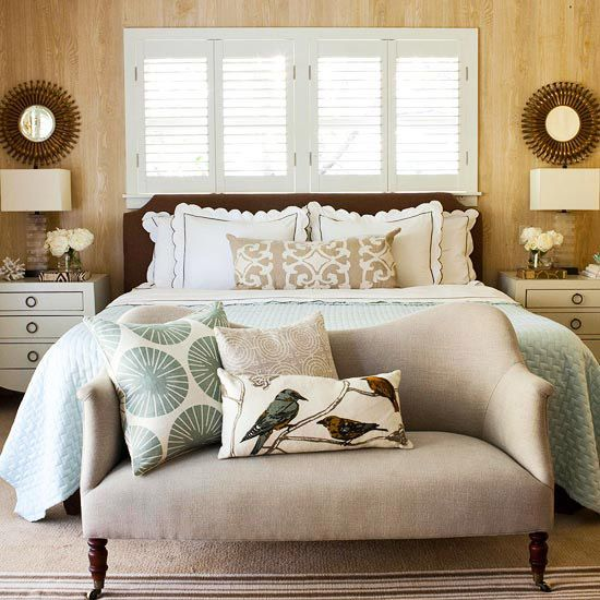 condo bedroom couch
