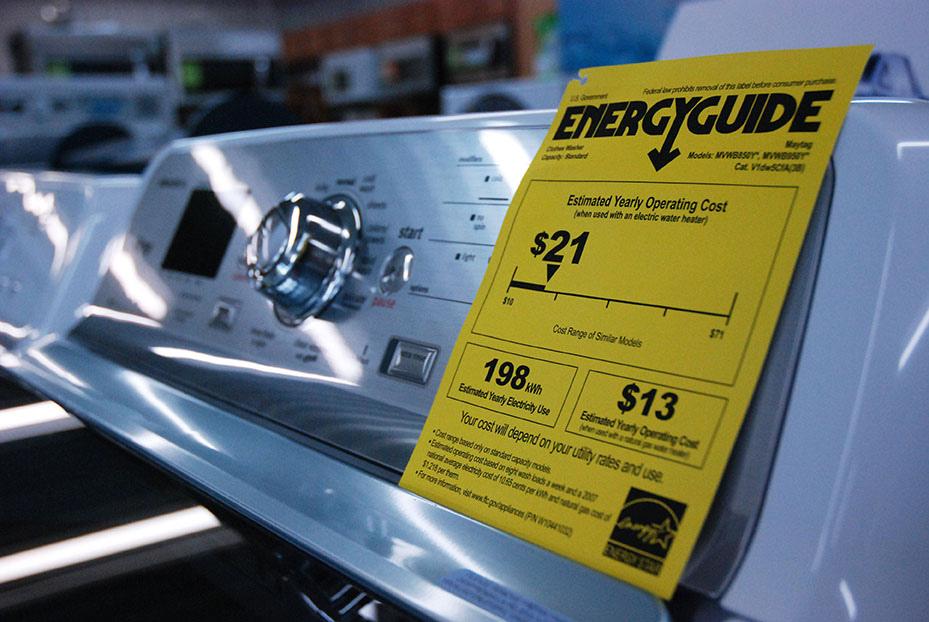 energy guide condo appliances