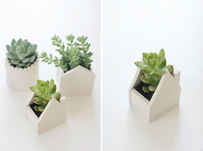 Give Mom a Handmade Clay Pot Planter