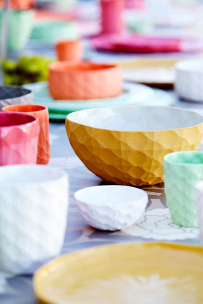colorful condo kitchen accessories