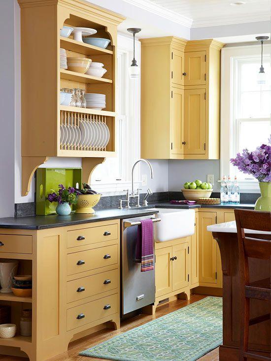 condo kitchen cabinet