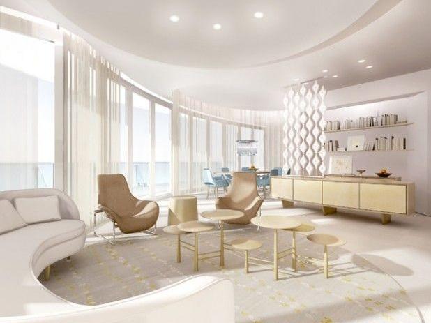 futuristic condo design