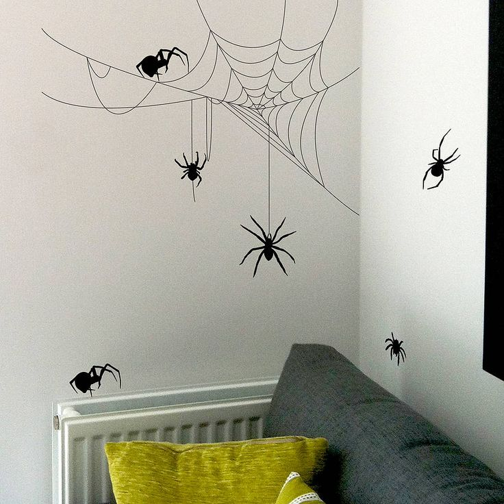 Creepy Spider Crawlers For Your Bedroom