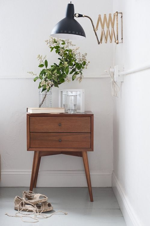 Go for a handy nightstand