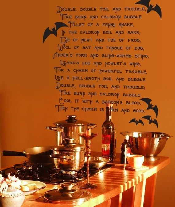 Scare Tactics For Your Kitchen