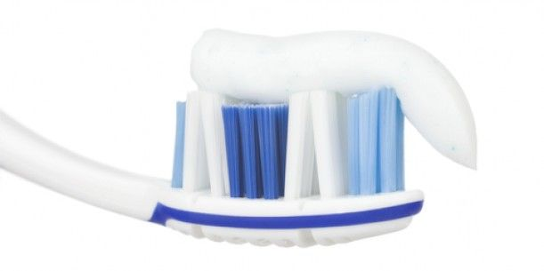 Toothpaste To Brush Off Stains