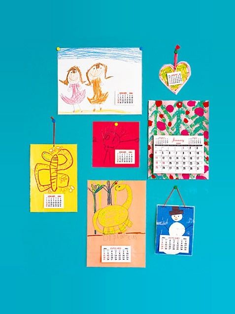 Customized Christmas Calendars
