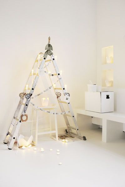 DIY Christmas Ladder