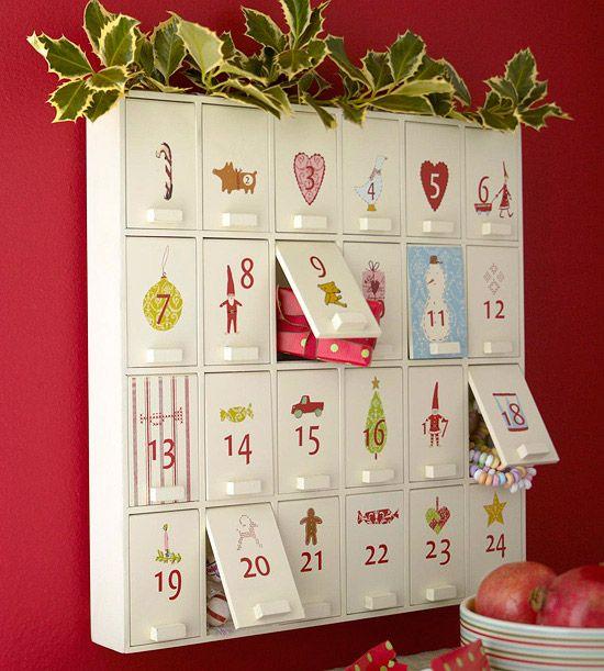 Wooden Cabinet Calendar